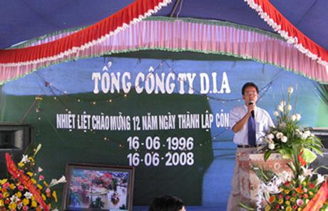 Lễ kỷ niệm 12 năm thành lập Tổng Công ty DIA