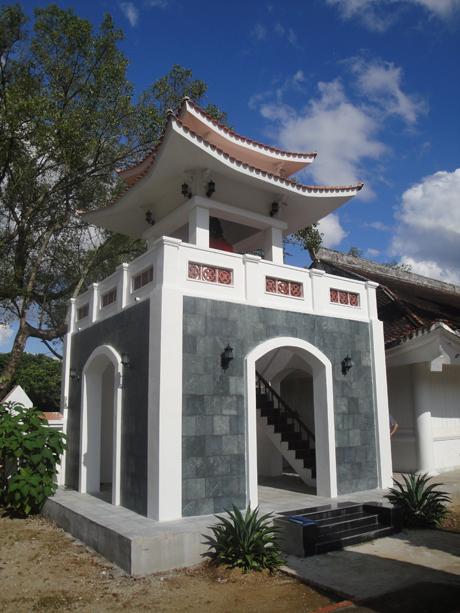 Công đức xây dựng tháp chuông Nghĩa trang Độc Lập